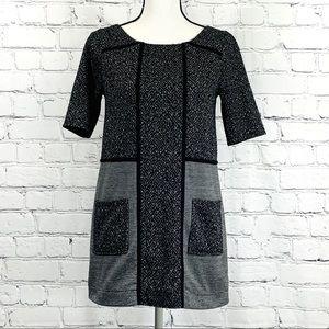 Anthropologie Tweed Mitzie Tunic Shift Dress Sz. S